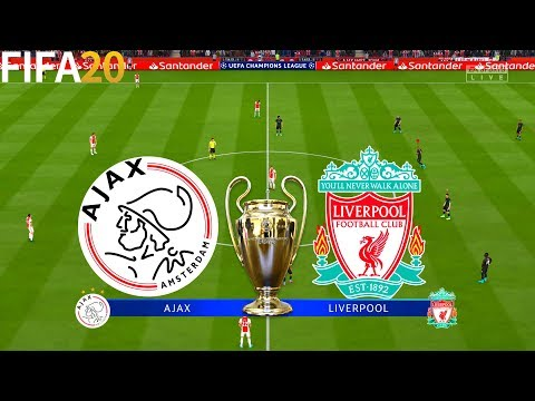 FIFA 20 | Ajax vs Liverpool - UEFA Champions League - Full Match & Gameplay