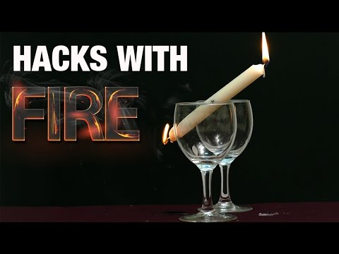 7 Incredible HACKS with Candle And Ball | HD