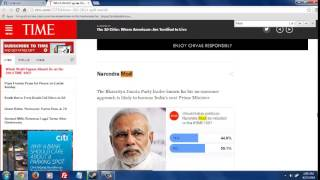 Narendra Modi Fake Voters on Time.com ?