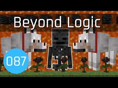 Beyond Logic #87: Dogs, Roses & Wither Skeleton Skulls | Minecraft 1.14