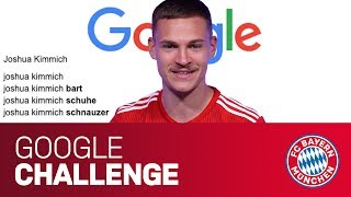 Does Joshua Kimmich have a beard? | Google Autocomplete Challenge