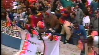 January 1990 - Browns Celebrate AFC Divisional Playoff Win Over Bills