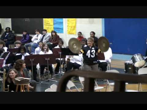 Nisqually Middle School band concert