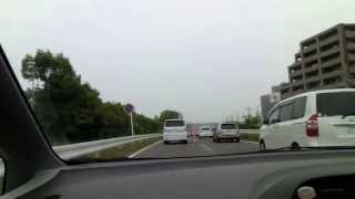 国道153号豊田西バイパス 梅森西交差点へ