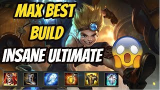 MAX GAMEPLAY BEST BUILD from SMG Liang | INSANE ULTIMATE | DARKBREAKER RANK TOP 2 EU| Arena of Valor