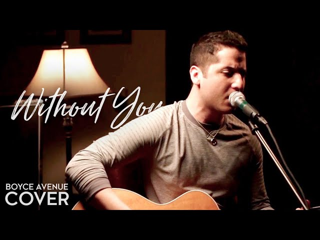 David Guetta feat. Usher — Without You (Boyce Avenue acoustic cover) on Spotify & Apple