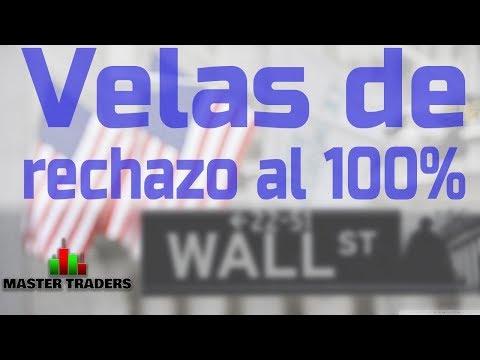 【 TRADING】►VELAS DE RECHAZO AL 100% ◄