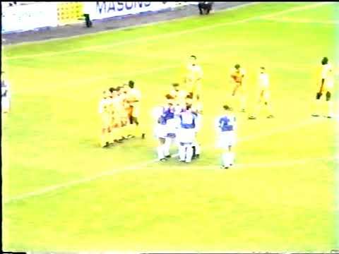Carlisle United 0 V Notts County 0 7th October 1995 Division 2