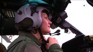 Portrait de Camille militaire pilote d'hélicoptère