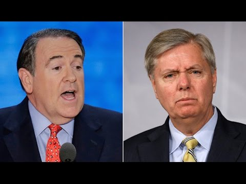 Mike Huckabee Calls Lindsey Graham Gay