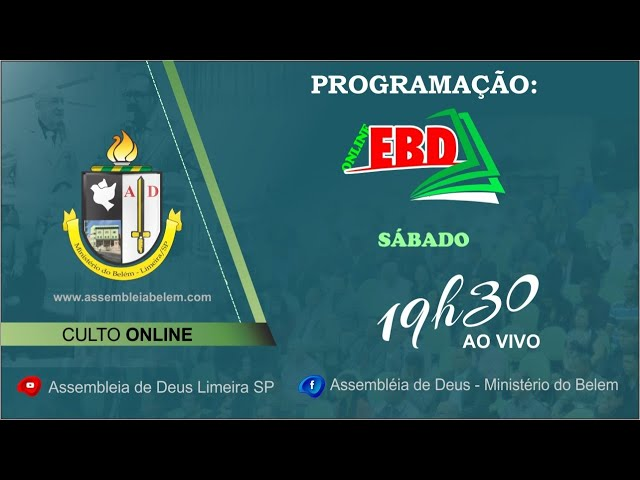 Culto E.B.D 03-10-2020