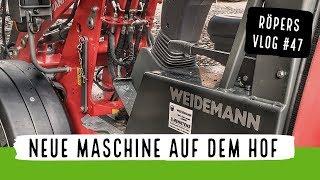 NEUE Maschine auf dem Hof
