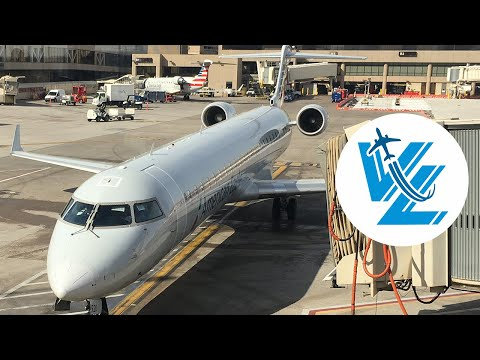 American Eagle Bombardier CRJ900 Review - Operated By Mesa Airlines
