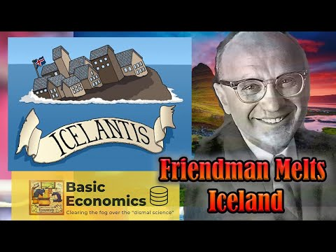 Milton Friedman Debates on Icelandic State Television (1984) 1/2