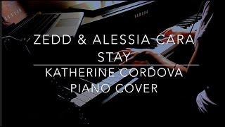 Zedd Alessia Cara Stay HQ piano cover.mp3