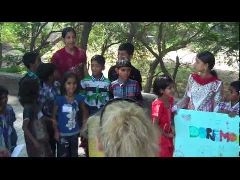 'Fun Day' for the children living in the slums
