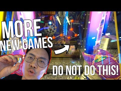 DO NOT DO THIS AT THE ARCADE!
