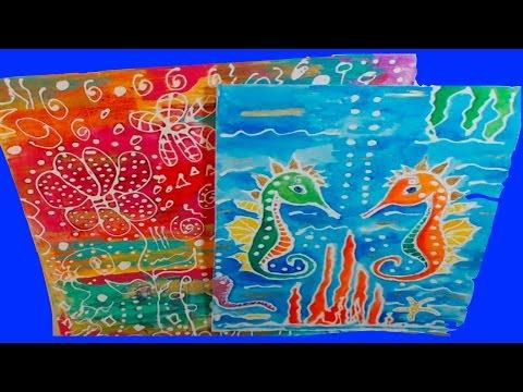 Batik Style Inspired