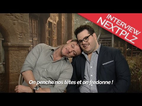 Interview LA BELLE ET LA BETE : Luke Evans et Josh Gad !