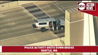 Entire bridge shut down after person with shotgun in car wouldn