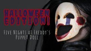 Repainting Puppet from FNAF | #halloween | Custom Monster Hi...