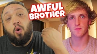 Logan Paul is a Bad Brother to Jake (Shane Dawson Inside the Mind / Family of Jake Paul Reaction)