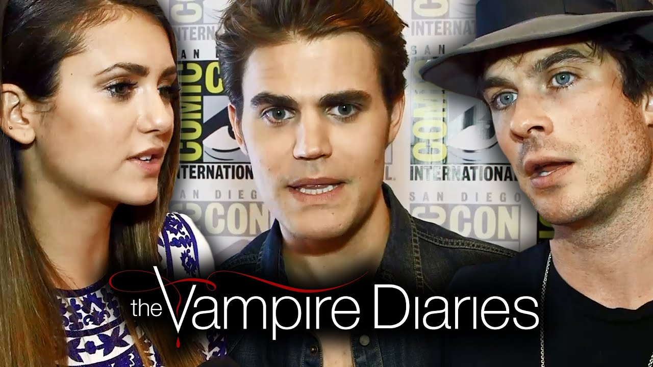 The Vampire Diaries - Season 6 - Comic-Con Cast Interview [VIDEO]