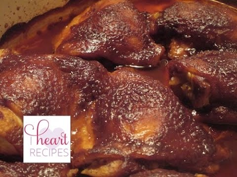Oven Barbecue Chicken Recipe - I Heart Recipe