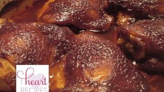 Oven Barbecue Chicken Recipe - I Heart Recipe