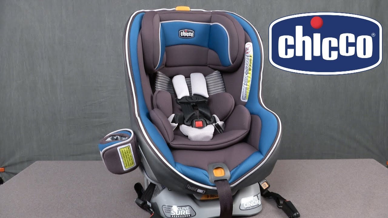 Nextfit Zip Air Convertible Car Seat From Chicco