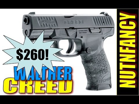 Totally Awesome $260 Combat Pistol:  Walther Creed