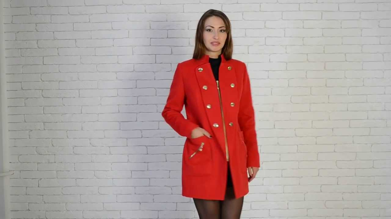 Modena-Fashion.ru Весеннее пальто-камзол Парма - YouTube 0d03707de322a
