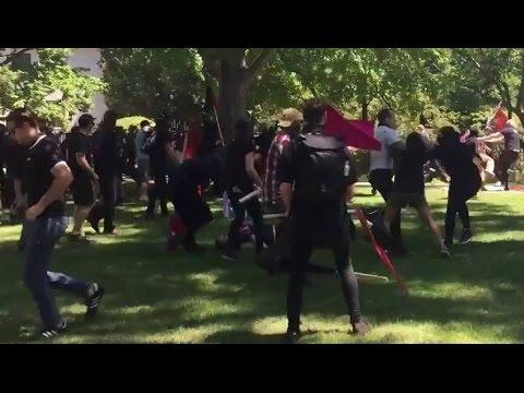 Neo-Nazis Stab Protesters in California Clash