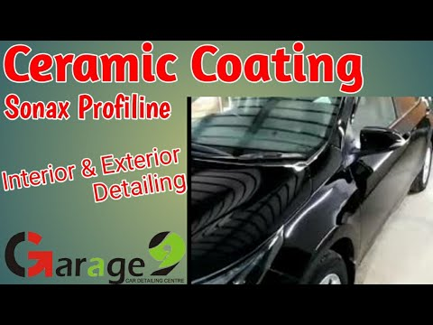 Ceramic Coating Sonax CC 36 Toyota Corolla Grandy 2015 Complete Car Detailing Lahore Garage 9.