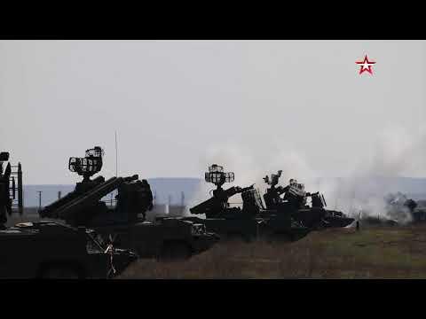 Ракетные стрельбы ПВО Черноморского флота