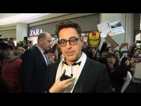 Iron Man 3 World Premieres Global Initiative - Robert Downey, Jr.