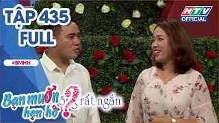 BẠN MUỐN HẸN HÒ | Cặp đôi hát đối đáp ăn ý ngay lần đầu gặp mặt | BMHH #435 FULL | 12/11/2018