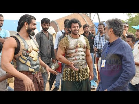 Baahubali Unseen Photos - Bahubali Making Stills - Baahubali 2 Unseen Pictures - Prabhas - Anushka