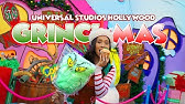 Grinchmas at Universal Studios Hollywood was Awesome and We Try Tasty Grinchmas Treats!