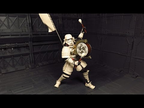 Movie Realization Taikoyaku Stormtrooper Figure Review