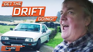 James May Tries To Drift A Lancia Gamma Coupe & It's Absolutely Hilarious | The Grand Tour