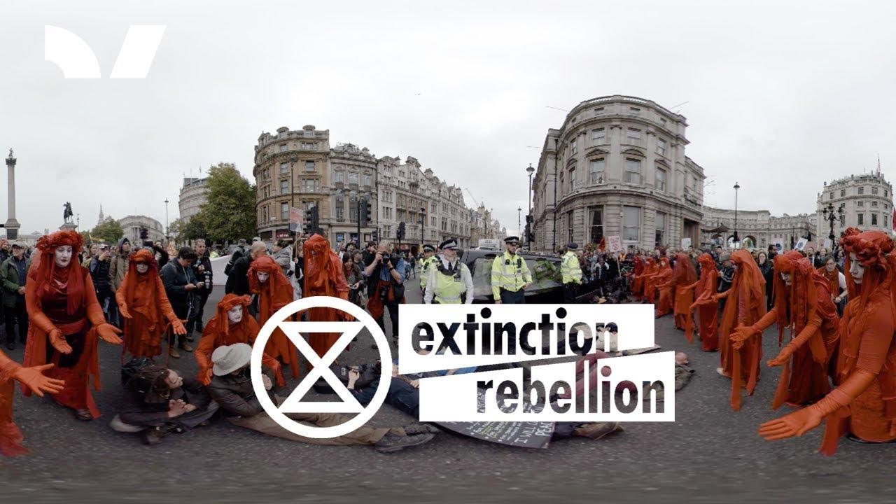 Extinction Rebellion - London Takeover | 360 VR