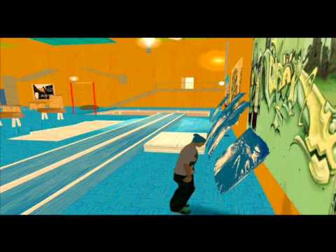 GTA SA Parkour Free Running Gym 2011