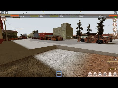 Exploding 5 hyper cars in Roblox Anomic