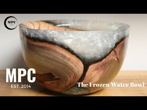 Frozen Water Bowl.