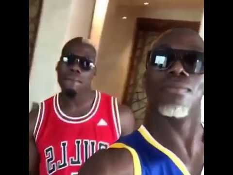 Mathias and Florentin Pogba Dancing  #LePogbance
