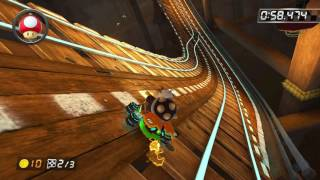 Wii Wario's Gold Mine - 1:52.197 - Danny (Mario Kart 8 World Record)