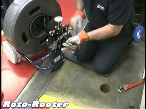 Using A Roto Rooter Machine Without The Pcfr Model 9200