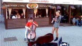 Московские уличные музыканты 2
