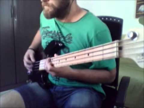 Demiurge | Meshuggah Bass Cover